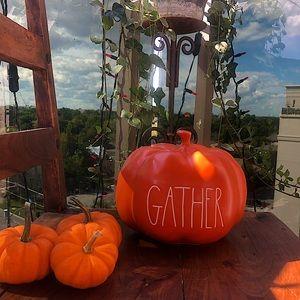 Rae Dunn Pumpkin Halloween/Thanksgiving Decor 🍁